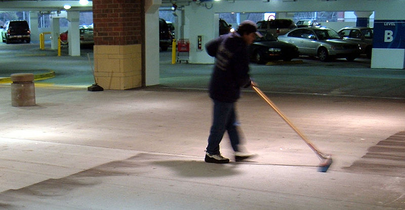 Labour relations paralegal services for Garage floor cleaning service